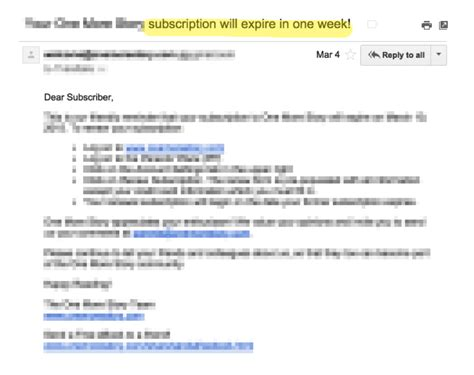 subscription email template how to market to customers when the free trial is