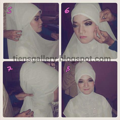 tutorial hijab pengantin akad cara memakai jilbab pengantin syar i tutorial hijab cara