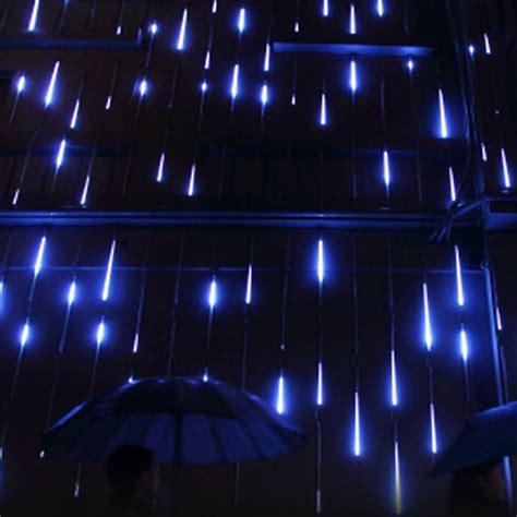 falling rain drop icicle lights meteor shower falling drop icicle snow led tree string light ebay