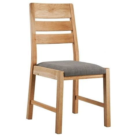 Oak Dining Room Chairs Oslo Oak Dining Chair Pair Dining Room Living Room Classic Essentials
