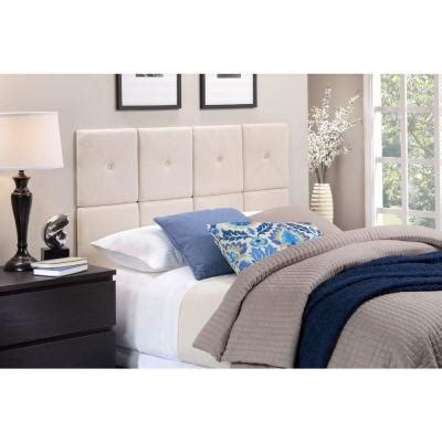 expanded queen headboard foremost tessa full queen size tile headboard with x seam