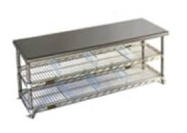 Gowning Bench Economical To Electropolished Clean Room Gowning Benches