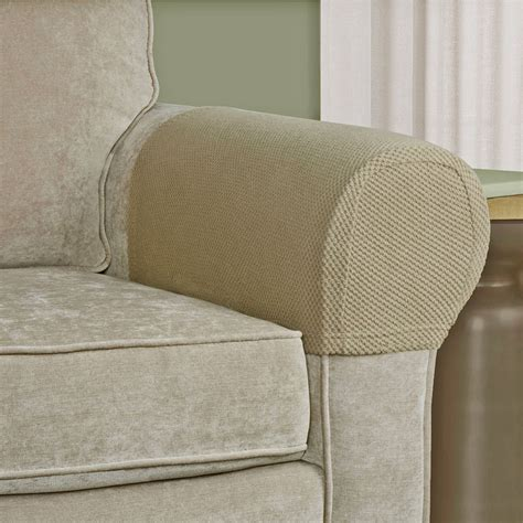 Sofa Armrest Protector Stretch Fabric Furniture Couch