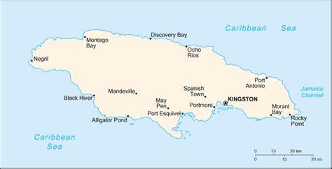 map of portmore jamaica scorpio in the greater antilles