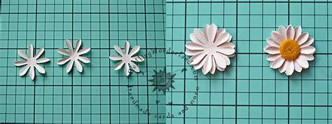 paper daisy flower tutorial simple paper daisy tutorial