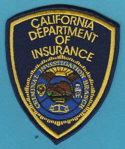 california insurance department  insurance  california