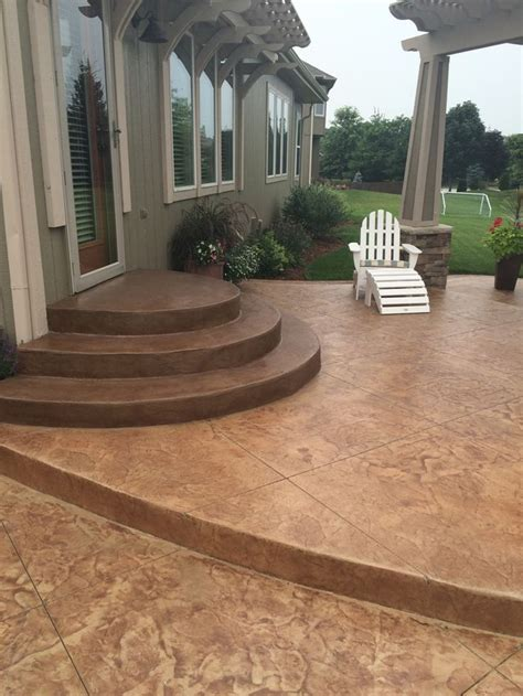 Patio Designs With Steps 1000 Ideas About Concrete Steps On Painted