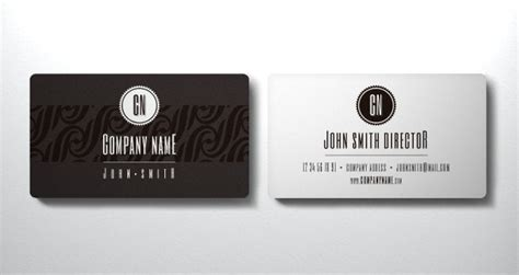 template business card ai free elegant business card vol1 business cards templates