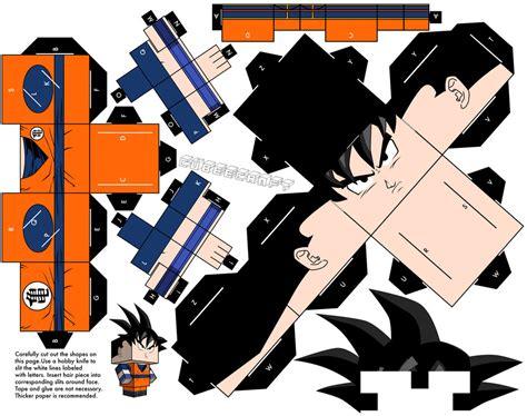 Best Papercraft - goku 4kids edition papercraft by topduelist on deviantart