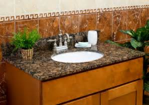 Bathroom Vanities With Granite Tops Lesscare Gt Bathroom Gt Vanity Tops Gt Granite Tops Gt Balticbrown Vanity Granite Top