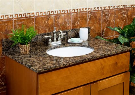 Granite Bathroom Vanity Top lesscare gt bathroom gt vanity tops gt granite tops