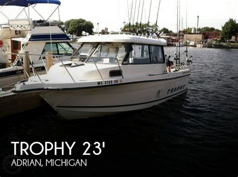 used trophy boats in michigan trophy new and used boats for sale in michigan