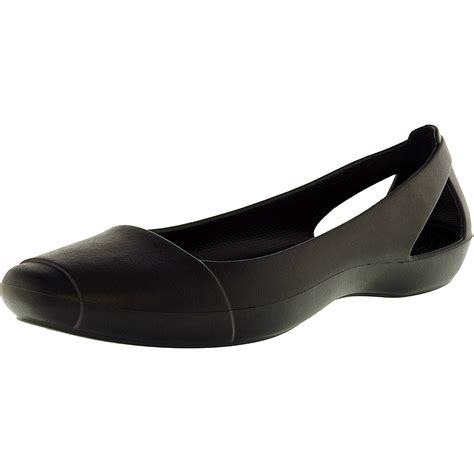 rubber flat shoes crocs s flat low top rubber shoe ebay