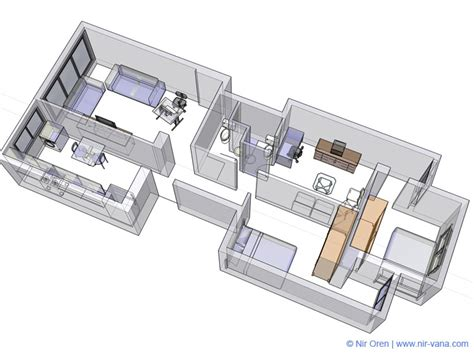 3d model designer apartment internal design 3d model