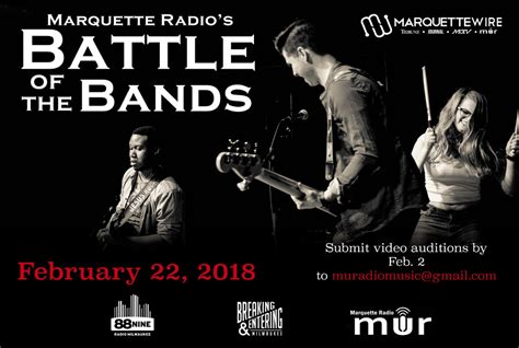 design by humans submission kit battle of the bands now accepting submissions marquette wire