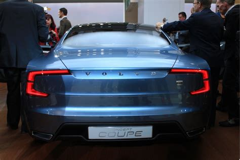 volvo concept coupe production volvo concept coupe could see limited production report