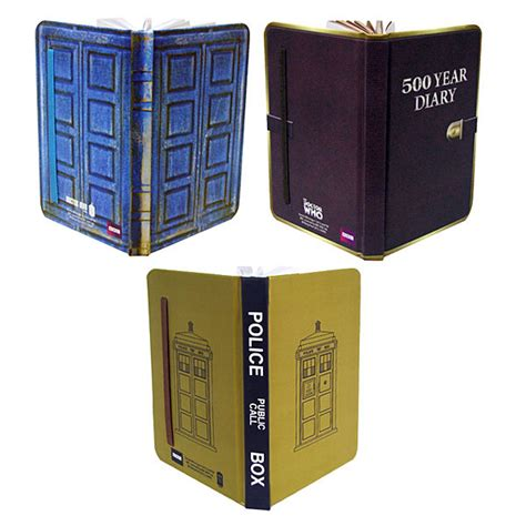Mini Dokter Set doctor who mini journal set sdcc exclusive