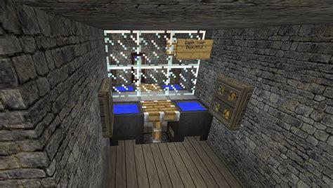 minecraft working bathroom home design idea