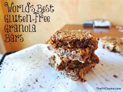 best granola bars best gluten free granola bars dairy free the fit cookie