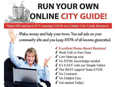 cityusa run your own online city guide and make money