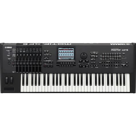 Keyboard Yamaha Motif Xf6 Yamaha Motif Xf6 Keyboard Workstation B Stock At