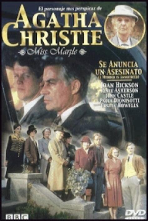 libro a murder is announced pel 237 cula miss marple se anuncia un asesinato 1985 agatha christie s miss marple a murder