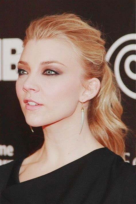 natalie dormer makeup 17 best ideas about natalie dormer hair on