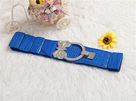 Heels Sepatu Sandal Tali Belt Import fashion belt lt46 blue tamochi