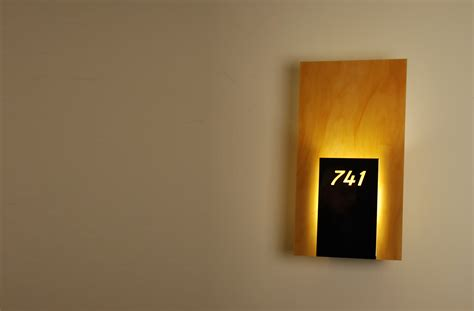 room numbers room number sconce prg retail hotel and architectural