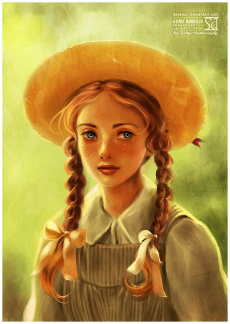 a portrait of the artist as a books of green gables by daekazu on deviantart