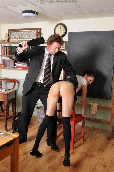 Schoolgirl Spanking China Girl Galaxi Pussy