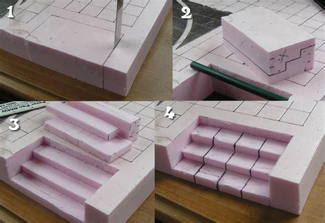 foam building templates mordheim 187 elevation