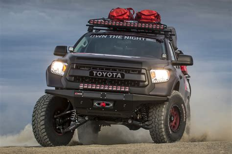 Trucks With Led Light Bars High Tech Truck Lighting Rigid Industries Adapt Light Bar