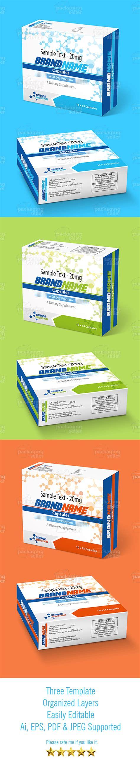 medicine box template medicine box template design l packagingseller