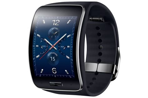 R Samsung Gear Samsung Galaxy Gear S Sm R750 Factory Unlocked Curved Amoled Smart Black Ebay
