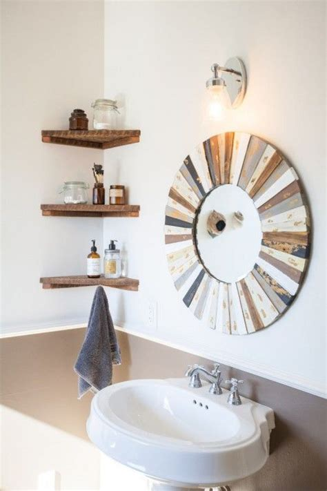 bathroom shelve we didn t want our bathroom to feel cluttered so we