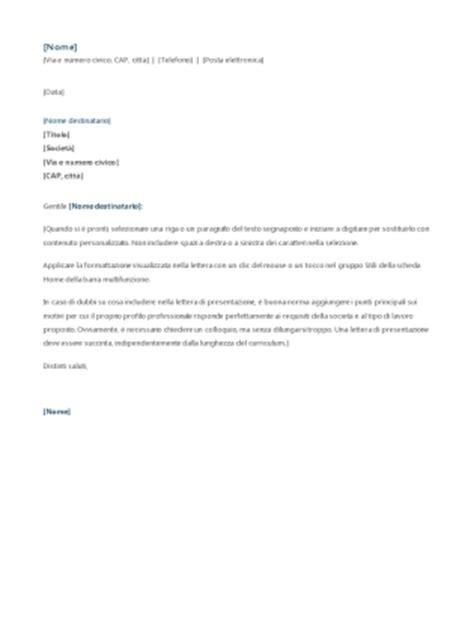 lettere motivazionali per stage lettera di presentazione per domanda di tirocinio office