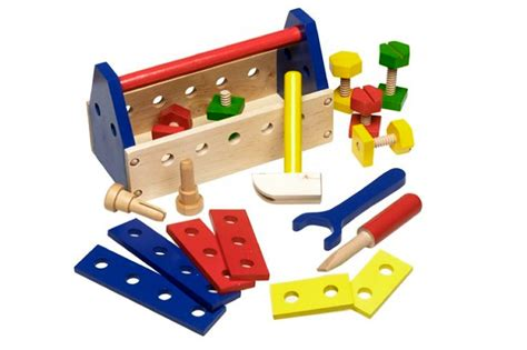 Tool Box Bench Wooden Toys best toddler workbench for your child reviews