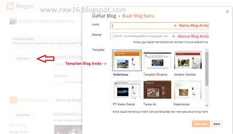 cara membuat website gratis bukan blog cara buat blog gratis dan mudah raw16 blog