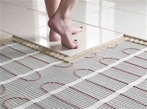 underfloor bathroom heating cost electric underfloor heating