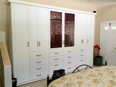 custom wardrobe closets spacious custom bedroom armoire wardrobes contemporary