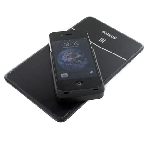 Iphone Wireless Charging Mat by New Maxell Qi Charging Mat Air Voltage Iphone 4 Wireless
