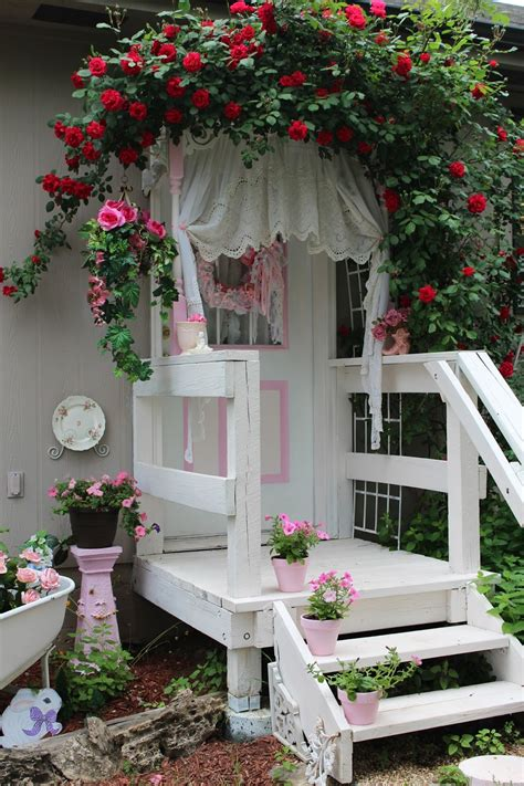 the shabby chic cottage s home shabby chic garden