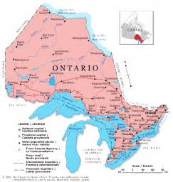 map of ontario canada counties ontario maps
