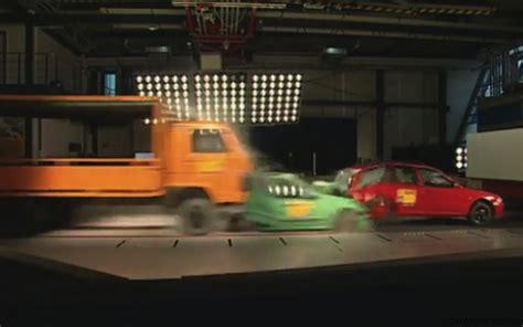 video adac multi car crash test asks  mandatory eba