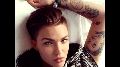 how to do ruby roses haircut ruby rose s rockin hairstyle youtube