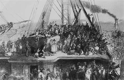 refugee boat history when america despised the irish the 19th century s