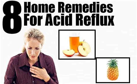 8 excellent home remedies for acid reflux