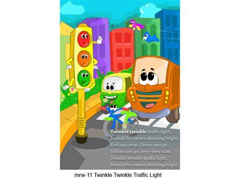 twinkle twinkle traffic light play rhymes for nursery preschool montessori and