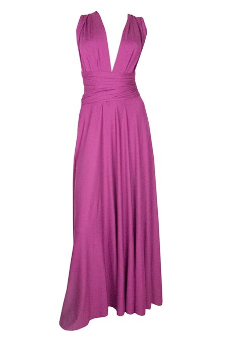 Butter Magenta butter by jersey gown magenta